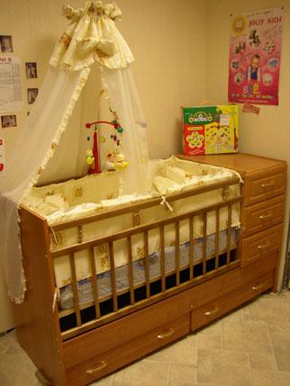 Детские кроватки самовывоз или